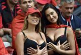 欧洲杯第6日美女球迷精选