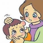 孩子头摔伤 母亲敷按一周休克