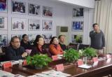 武汉医药卫生学会联合办公室一行来武汉科技报交流