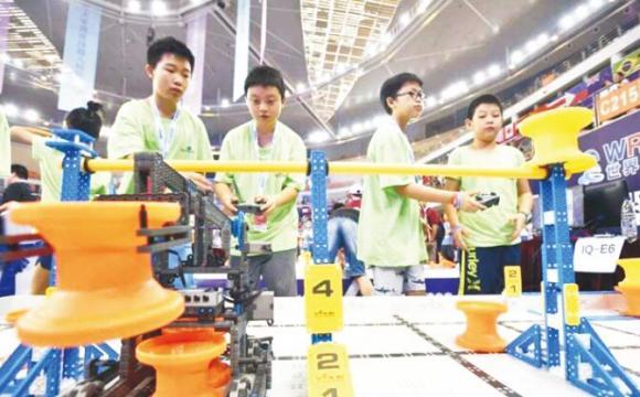 世界机器人大赛总决赛武汉落幕