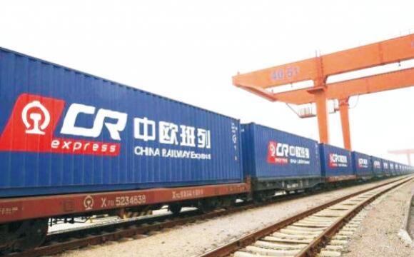 中欧班列(武汉)首次延伸至英国伦敦