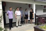 市科协党组书记陈光勇到新洲区紫薇都市田园调研