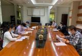 湖北省科协党组成员、副主席马忠星听取武汉科技报科普信息化建设与实施情况汇报