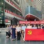 参观中山舰博物馆 重温红色记忆